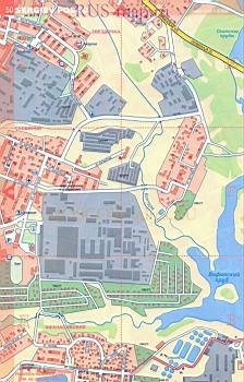 Карта Сергиева Посада С Улицами