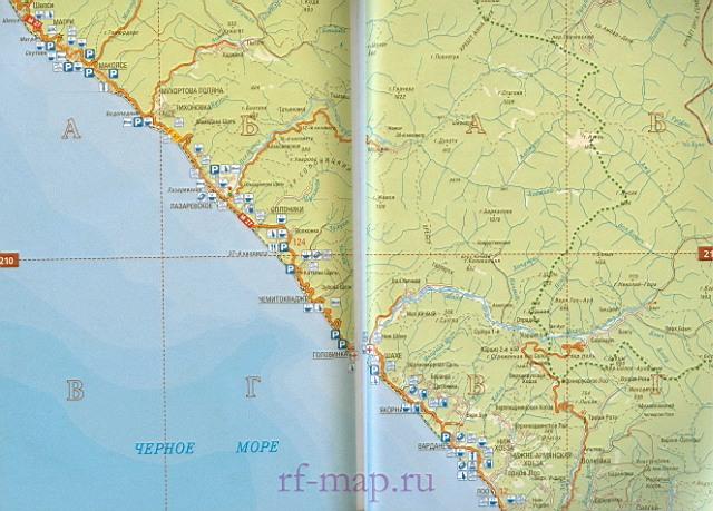 Дороги края Карта