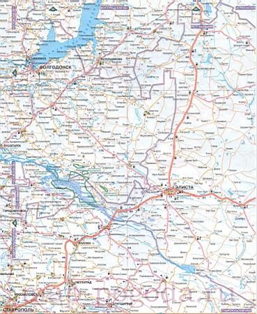 Карта Ставропольского края с