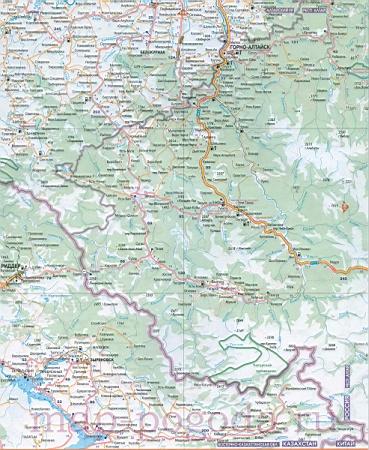 дорог Алтайского края