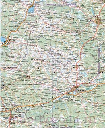 Карта Воронежа автодорог