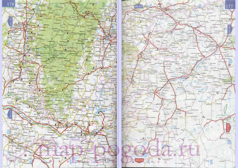 Карта юга башкирии подробная карта
