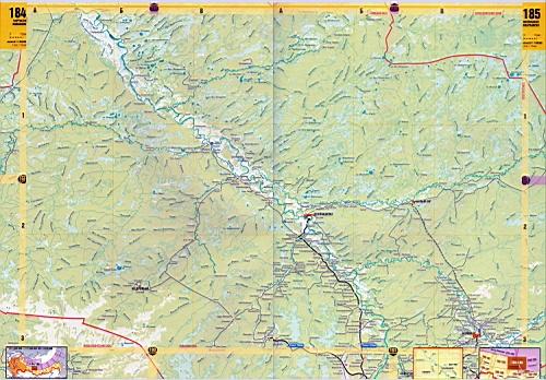 Детальная карта дорог Томской