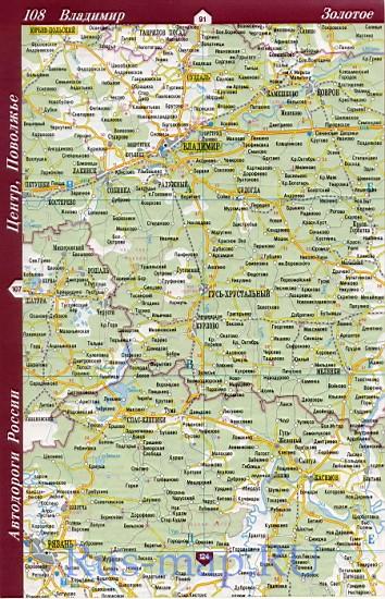 Карта Московской области и