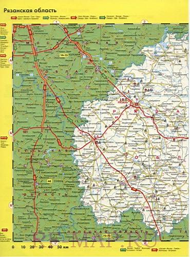 дорог Рязанской области